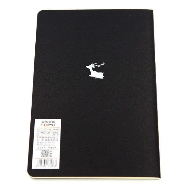 CAHIER CERF DEER BUBBLE
