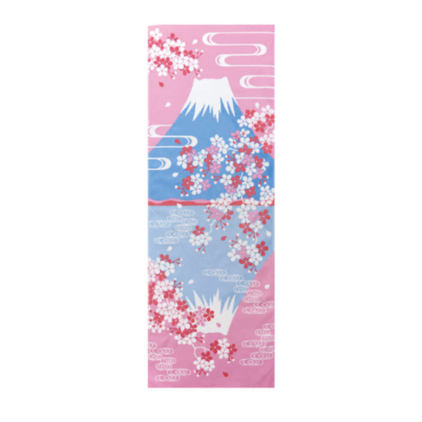Tenugui Mont Fuji Sakura - Made in Japan | Moshi Moshi Paris