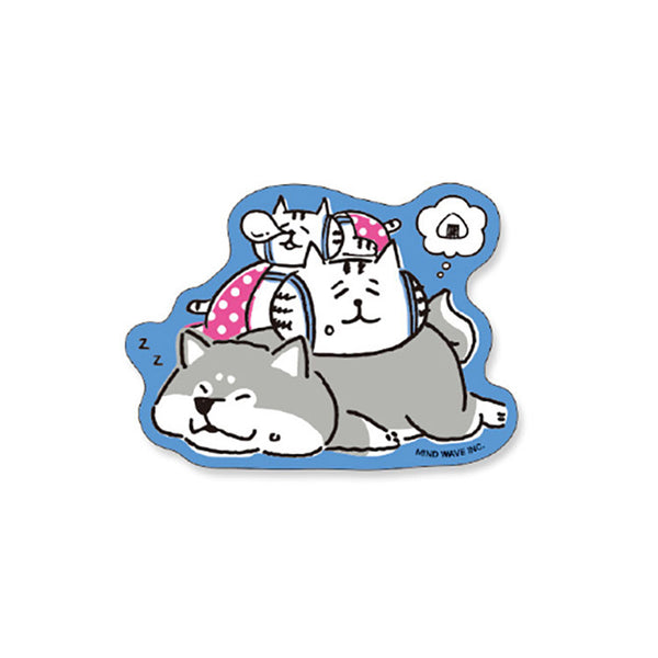 Stickers Shiba Chat - Kawaii | Moshi Moshi Paris Japon