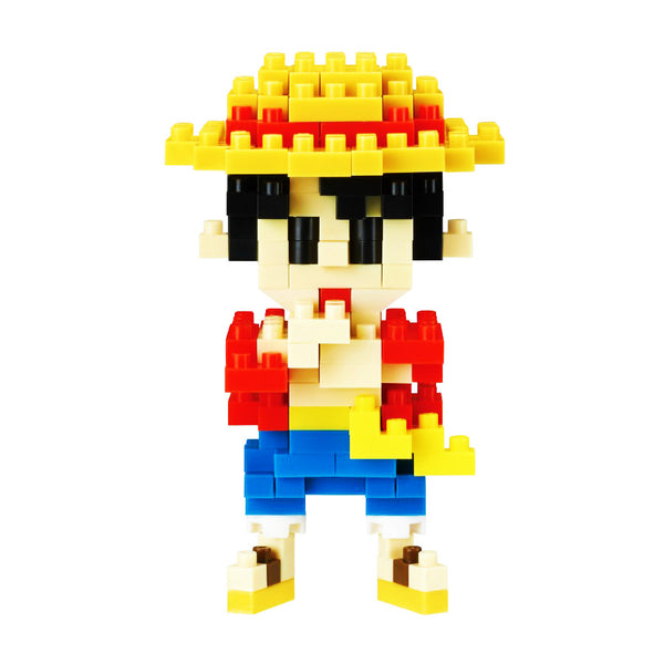 Nanoblock Luffy,  One Piece | Moshi Moshi Paris Japon