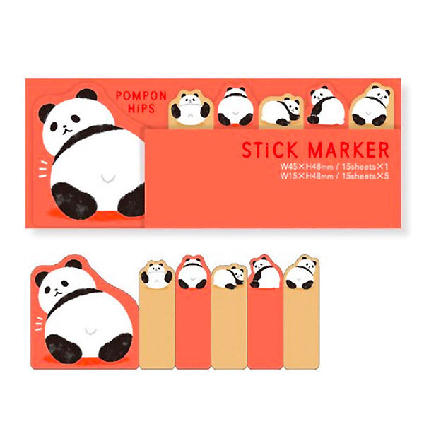 Marque page Stickers Panda- Kawaii | Moshi Moshi Paris Japon