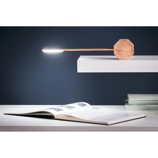 Lampe Octagon Erable Bois - Design et Tactile | Moshi Moshi Paris