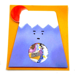 sticker kawaii mont fuji - japon