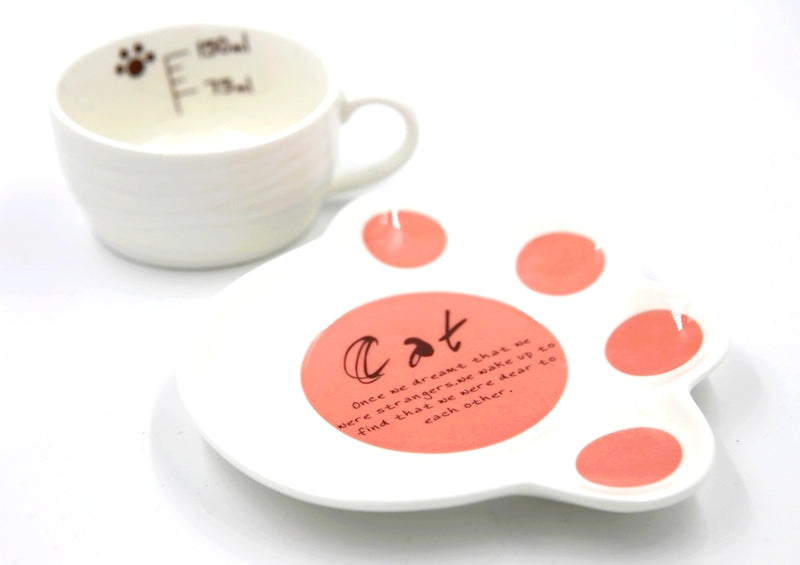 Tasse et Soucoupe Chat, Sleeping Cat - Kawaii Design | Moshi Moshi
