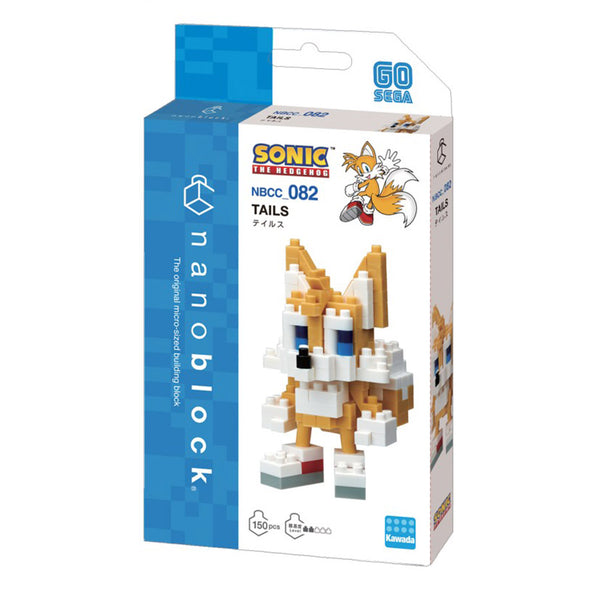 Nanoblock Tail - Sonic l'Hérisson | Moshi Moshi Boutique Paris
