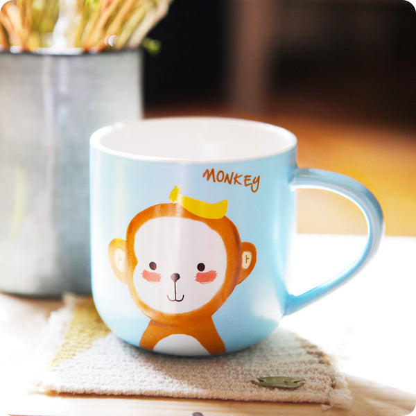 Tasse Tea Time Monkey - Singe, Kawaii Design | Moshi Moshi