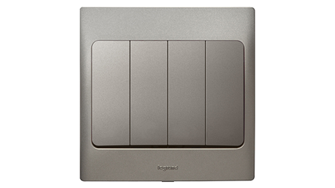 Legrand Mallia Switch (Dark Silver)