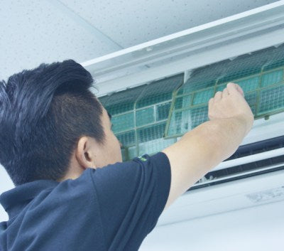 AirCon Normal Cleaning Service - WeShop Singapore