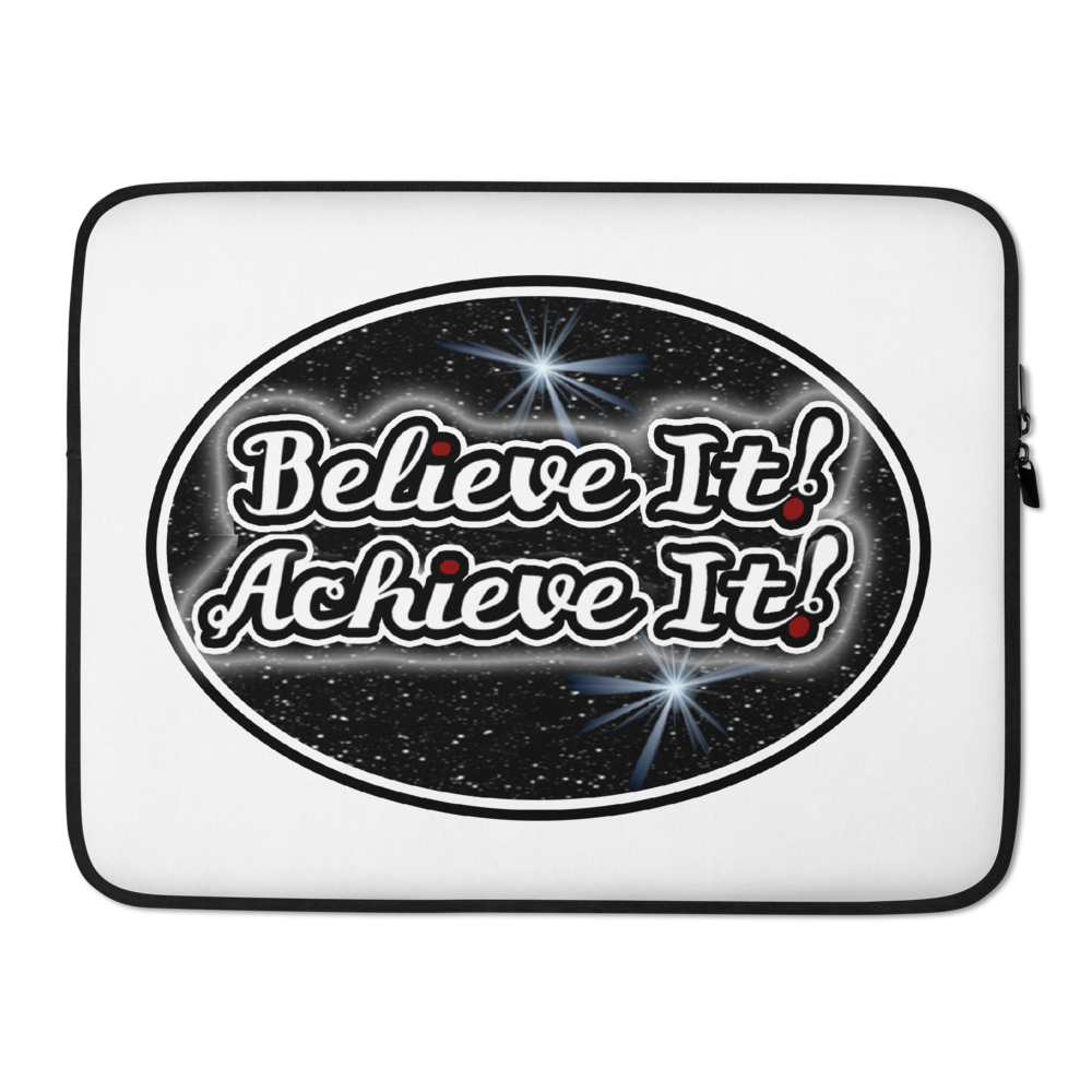 Max La Vida Believe It! Achieve It! Laptop Cases