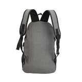Navy Blue Backpack Rucksack External USB Charger Computer Laptop Bag Waterproof Quality Backpacks - Travell Well
