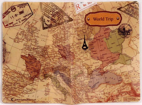World map passport cover creative pvc leather travel passport travel stylish with best traveler wallet world map passport covers gumiabroncs Choice Image