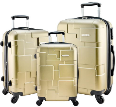 Travel luggage trolley bag leather suitcase map print wheels 16 18 designer travel luggage 3 piece gold spinner suitcase set 20 24 28 inch suitcases gold dark gray red wine carry on travell well luggage sets free gumiabroncs Image collections