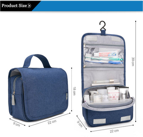 Travel Well and Prepared with Best Travel Organizer Portable Waterproof  Cosmetic Toiletry Makeup Bag Large For Men and Women Toilet Hanging Storage  Bags ... 75738f811
