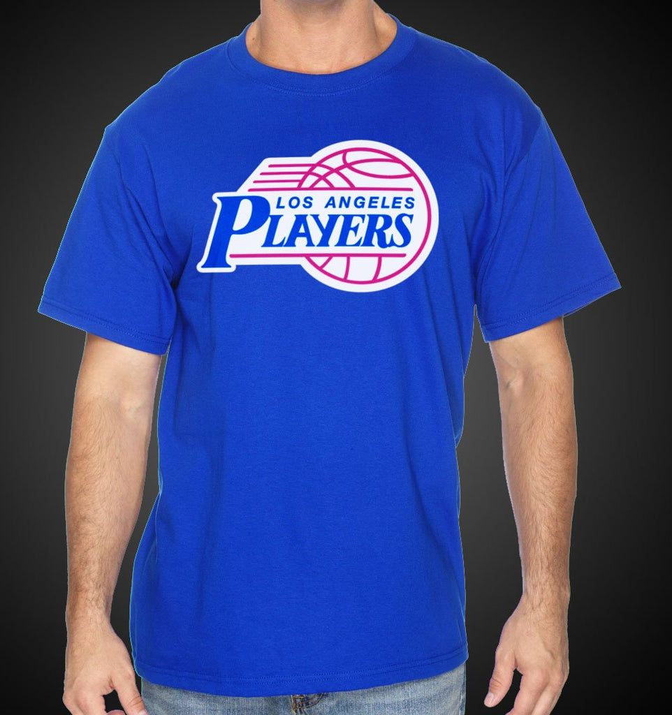 L.A. Shirt Clipper LAPlayers Style Tees Royal LA Shirts - Travell Well
