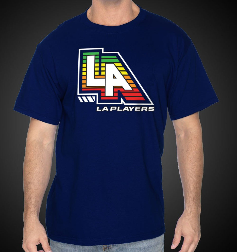L.A. Shirt EQ Tees LA Music Equalizer Blue T-Shirt - Travell Well