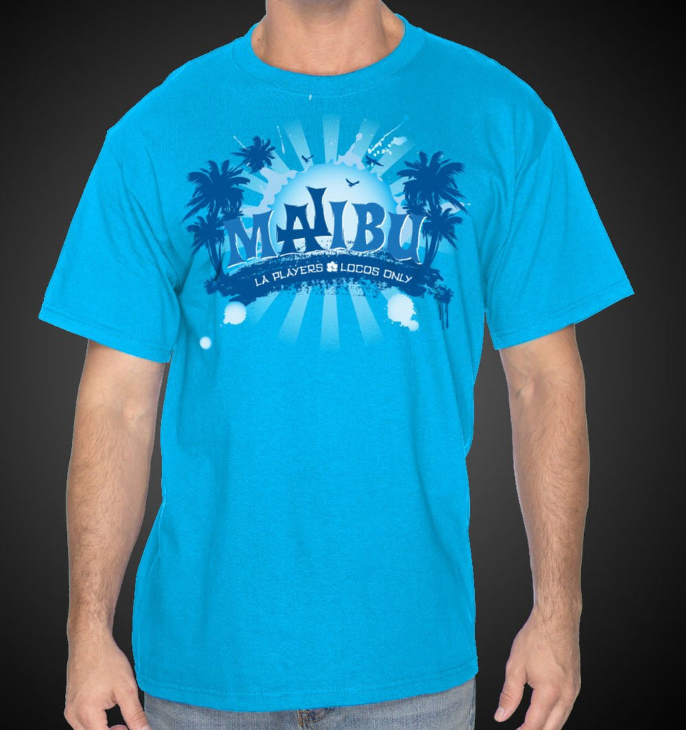 LA Shirt Malibu Beach Tee Shirts - Travell Well