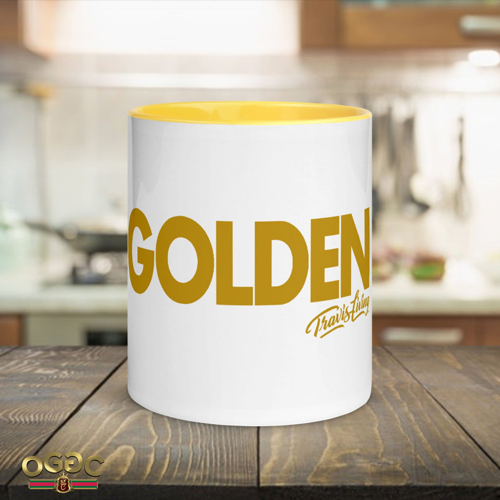 Golden Coffee Cup Multi-Color Travel Coffee Cups Mugs
