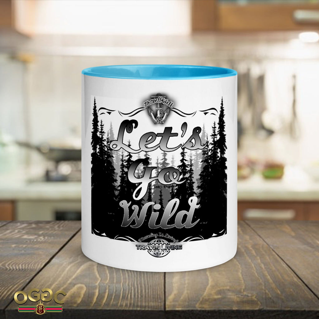 Let's Go Wild Coffee Cup Into The Wild Coffee Cups Cafe Mugs