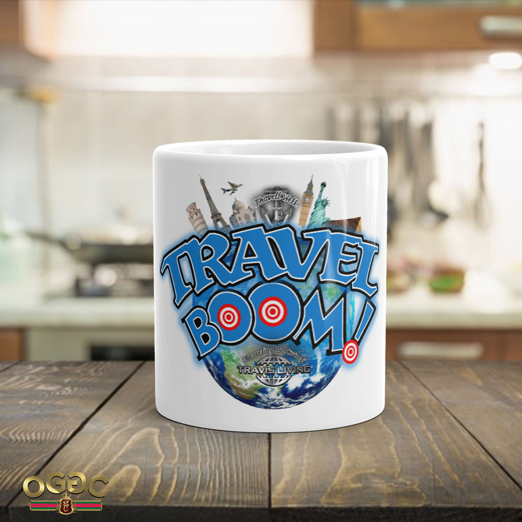 Travel Boom Coffee Cup World Travel Coffee Cups Cafe Mugs