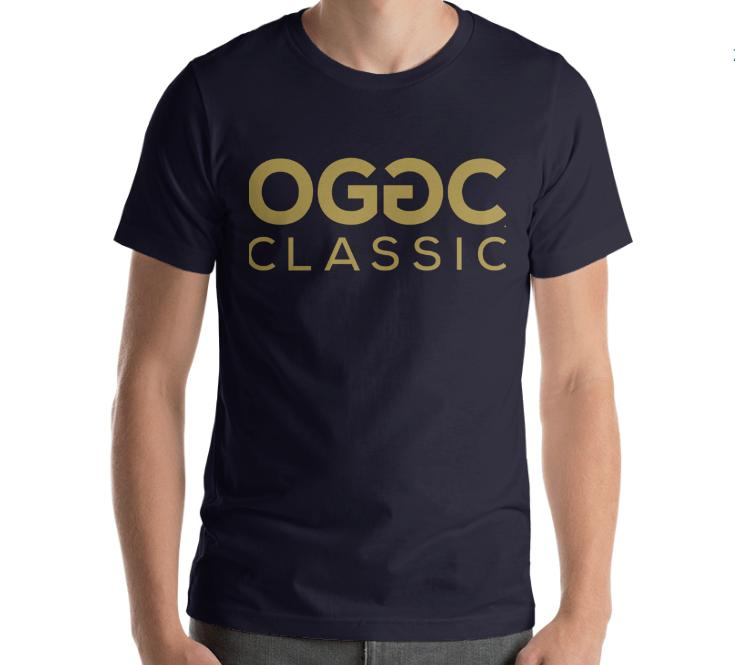OGGC Classic Shirt OG Genuine Men Navy Blue Tee T-Shirt - Travell Well