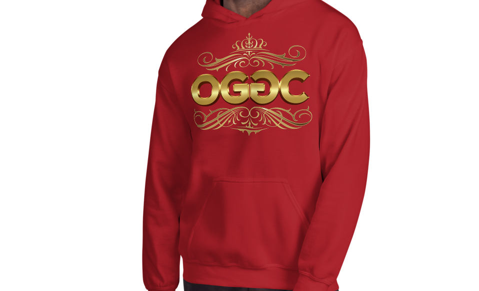 OGGC Hoodies Gold Tribal Art Zip Jacket Hoods - Travell Well