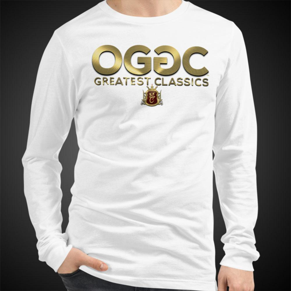 OGGC Greatest Classics Golden Tee Men Long Sleeve Shirt Authentic Quality Men's Shirts - Travell Well