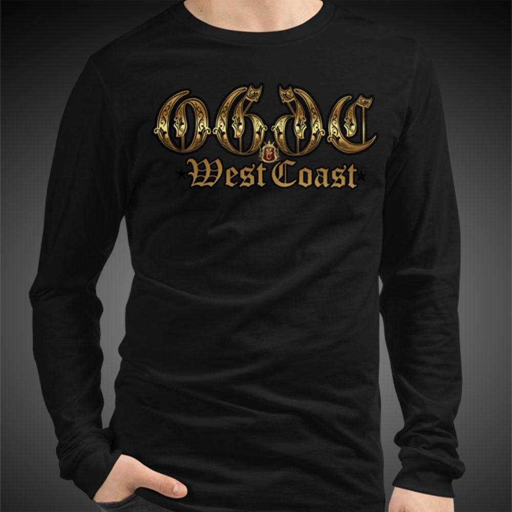 OGGC West Coast OG Tee Men Long Sleeve Shirt Authentic Quality Men's Shirts - Travell Well
