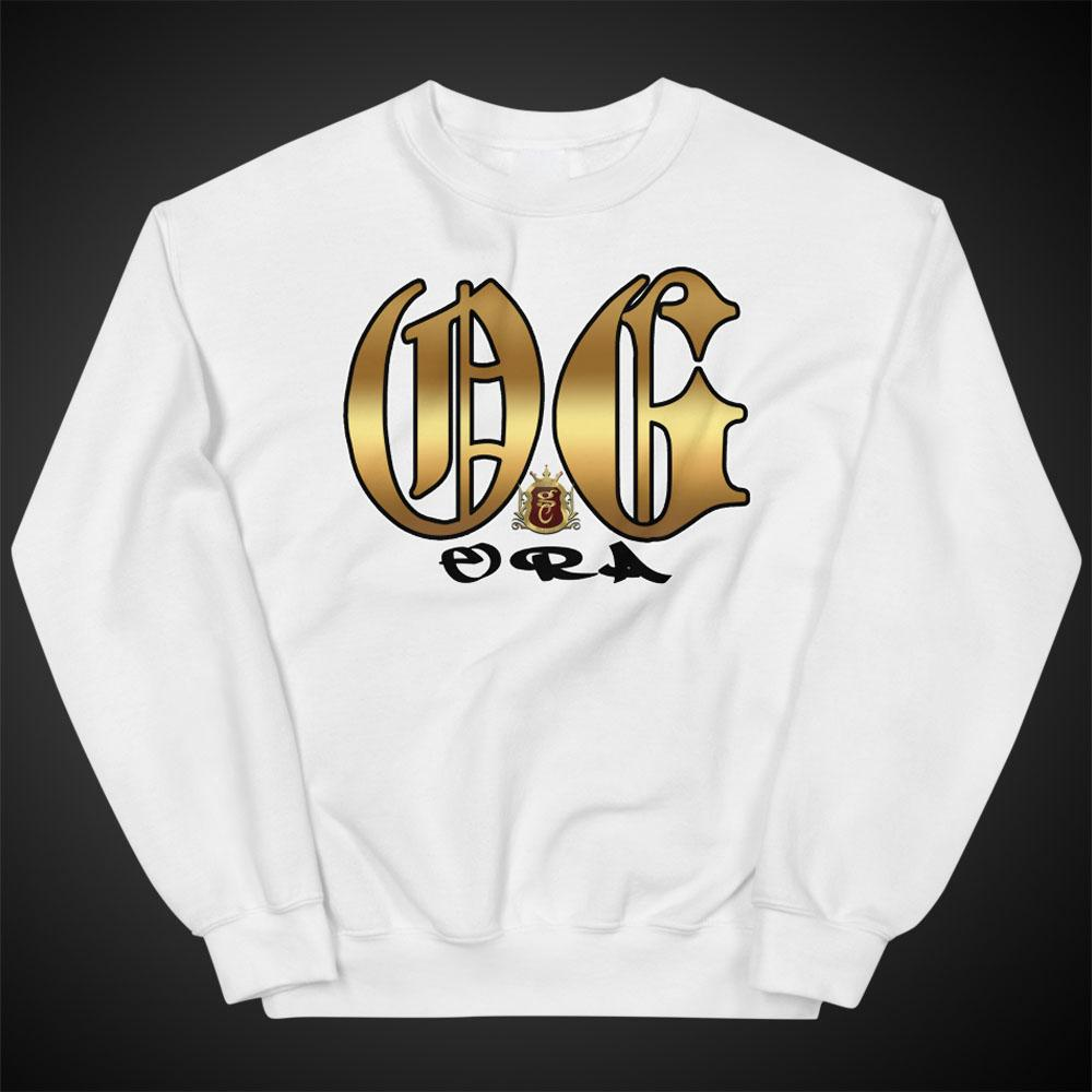 Womens Sweatshirts Gig OG Era Crewneck Pull-Over Sweatshirt Authentic OGGC Quality Apparel - Travell Well