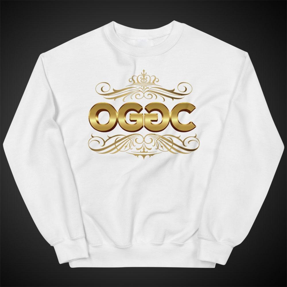 Women Sweatshirts Golden Tribe Crewneck Pull-Over Sweatshirt Authentic OGGC Quality Apparel - Travell Well