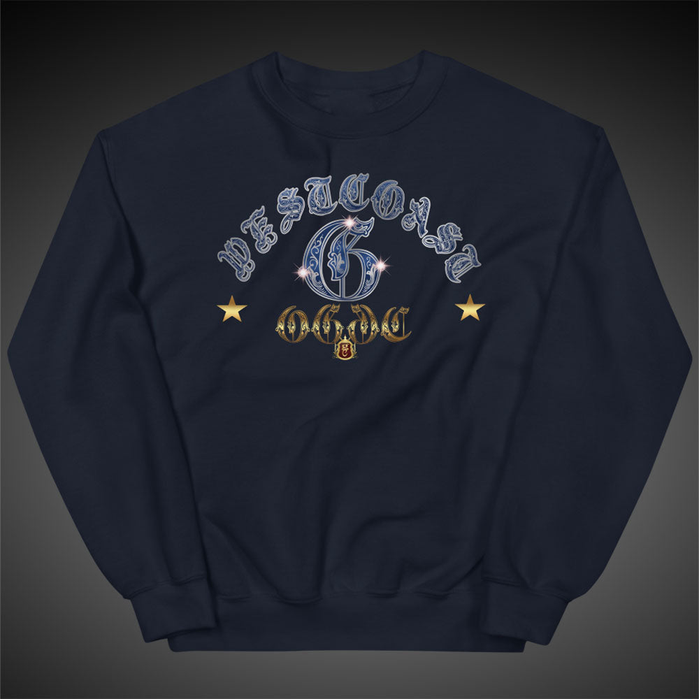 Men Sweatshirts West Coast G Crewneck Pull-Over Sweatshirt Authentic OGGC Quality Apparel - Travell Well