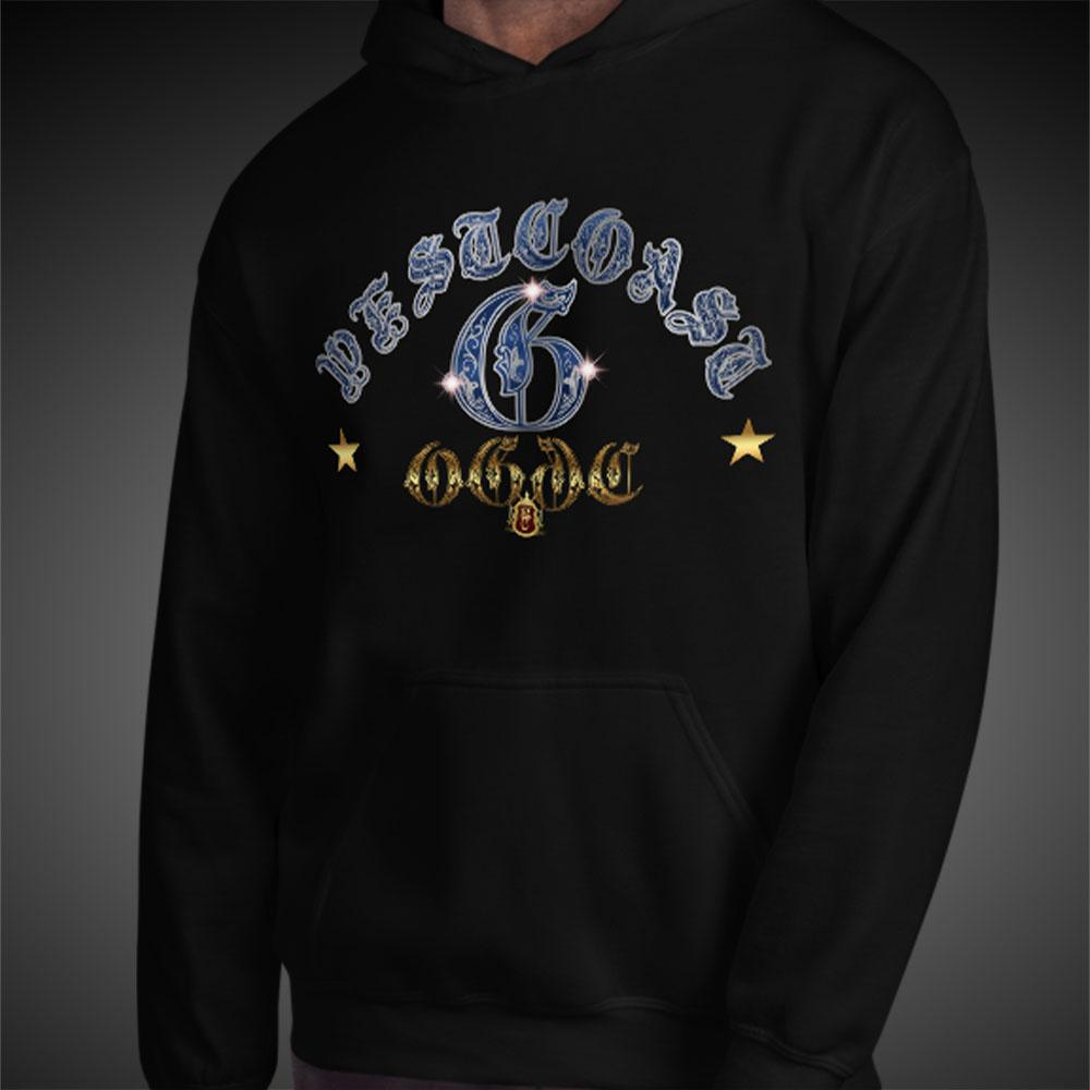 OGGC Hoodies West Coast G Blue Ink Quality Hoods - Travell Well