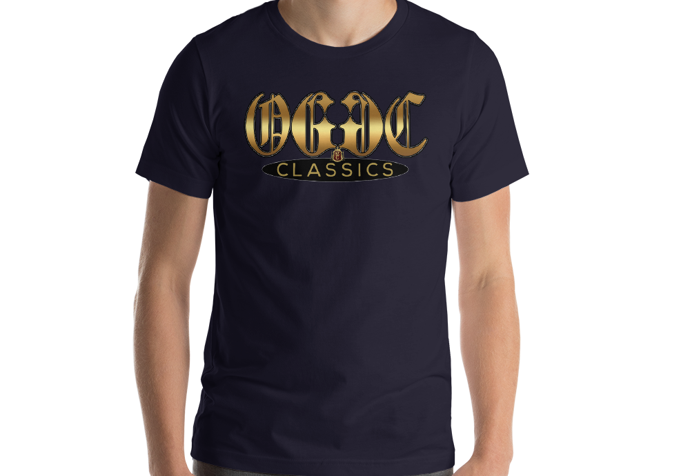OGGC Shirt Gold Old E Classics OG Tee Quality T-Shirts - Travell Well