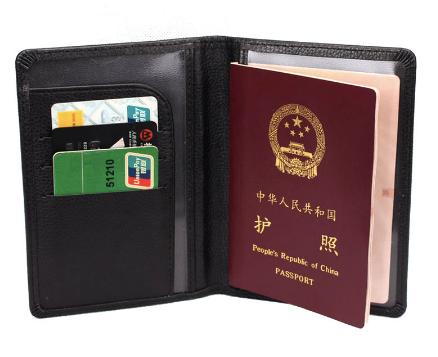 e5154c2049d Classic Leather Passport Wallet Holder Cover Reliable Basic Passport Cover  RFID Protected Wallet