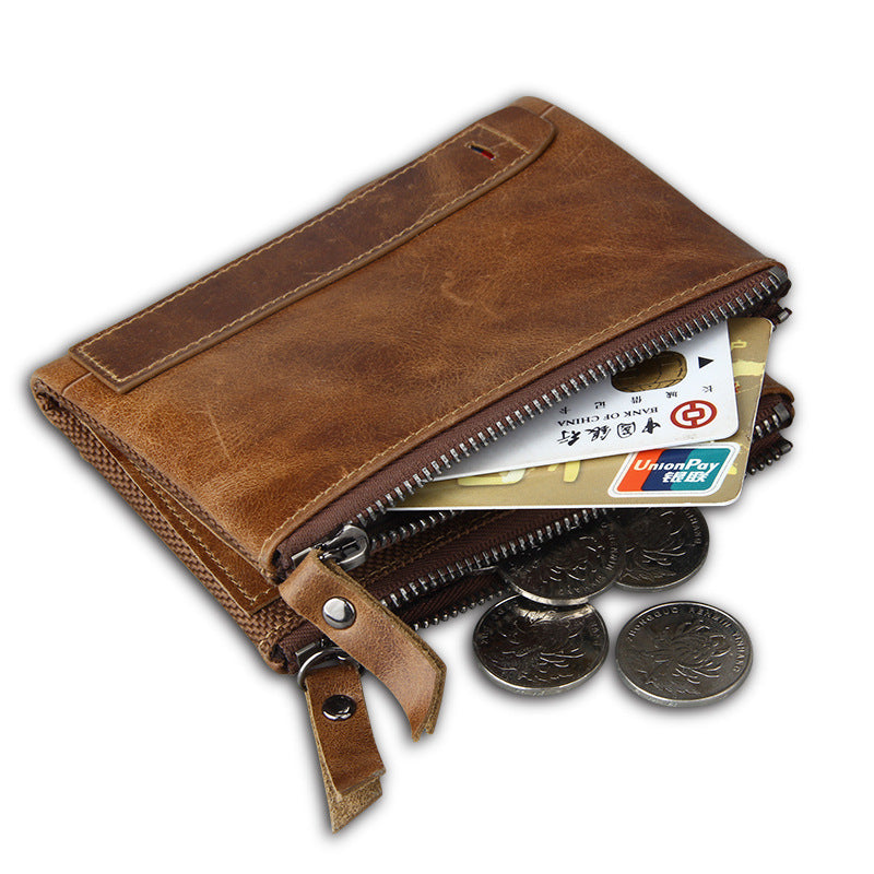Best Anti-Theft Designer RFID Wallet Genuine Leather Quality Card ID Chip Protect Multi-Color Wallet - Travell Well