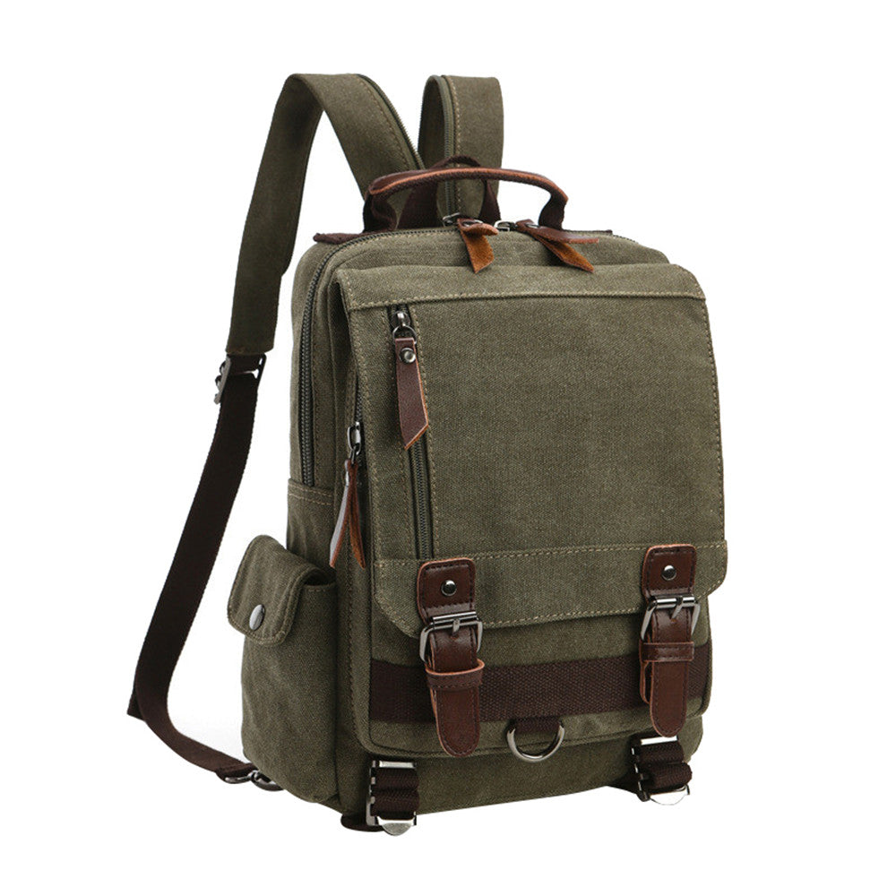 Travel Bag Multifunctional Capacity Backpack Rucksack Canvas Travell Well Bags School Work Various Colors - Travell Well