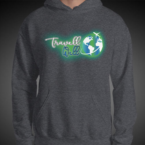 Travell Well Logo Travel Hoodie Mens Authentic Quality Hoodies Men Hoods