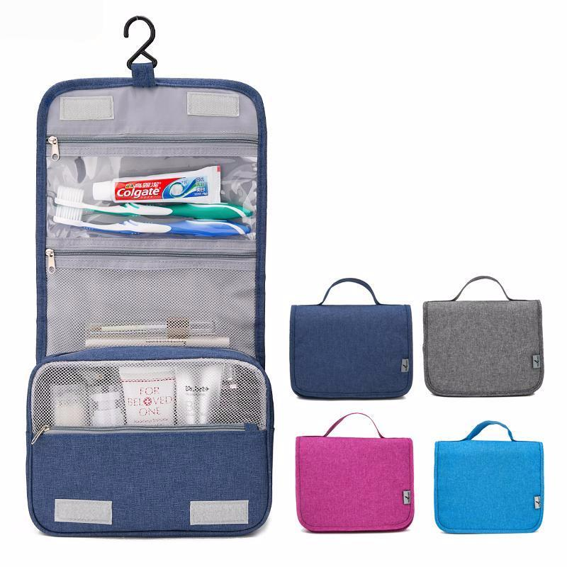 Hanging Commode: Travel Organizer Portable Waterproof Cosmetic Toiletry