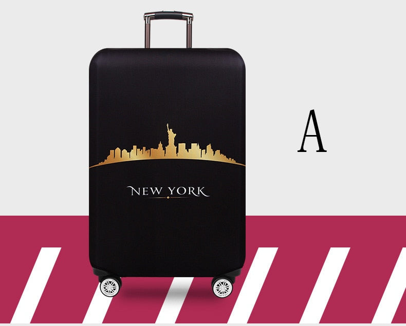 Trolley Suitcase Protective 18-32 Travel Fabric Protect Dust Luggage Bag - Travell Well