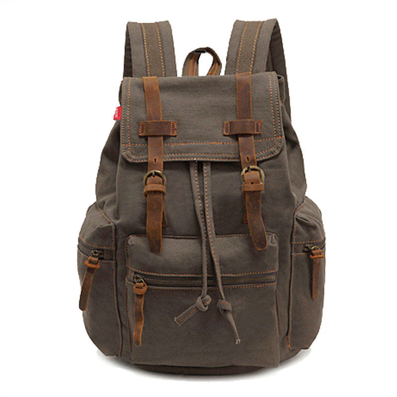 Backpack Rucksack All Colors Quality Outdoor Large Capacity Canvas Backpacks Mochila School Travel Bags - Travell Well