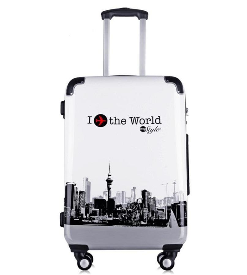 High Quality 20 Luggage Travel Case Trolley Rolling ABS Boarding Carry On