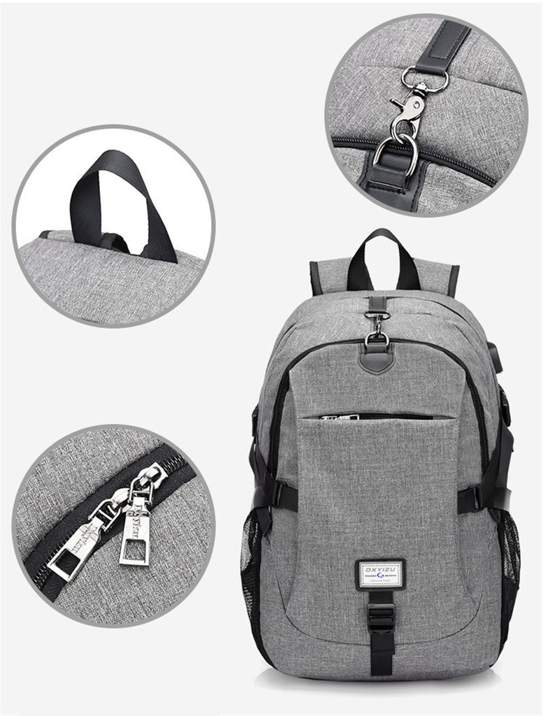 Multifunction USB charging Laptop Backpacks Mochila Leisure Travel Backpack - Travell Well