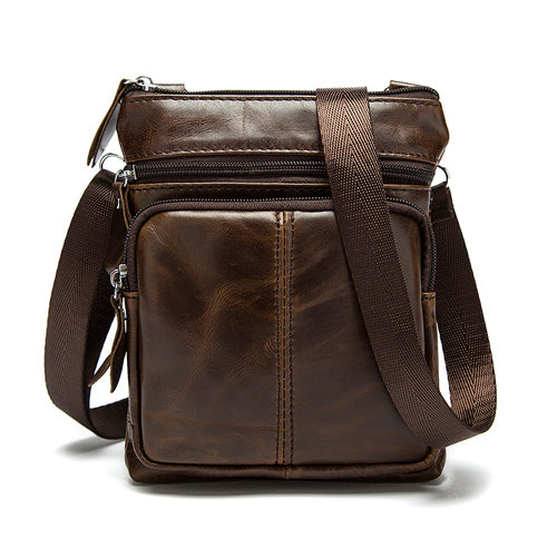 Genuine Leather Handbag Flap Shoulder Crossbody Small Messenger Quality Hand Bags - Travell Well