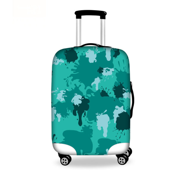 Vintage Luggage Protective Dust Cover Carry On Case Cover Waterproof Travel Suitcase Covers - Travell Well