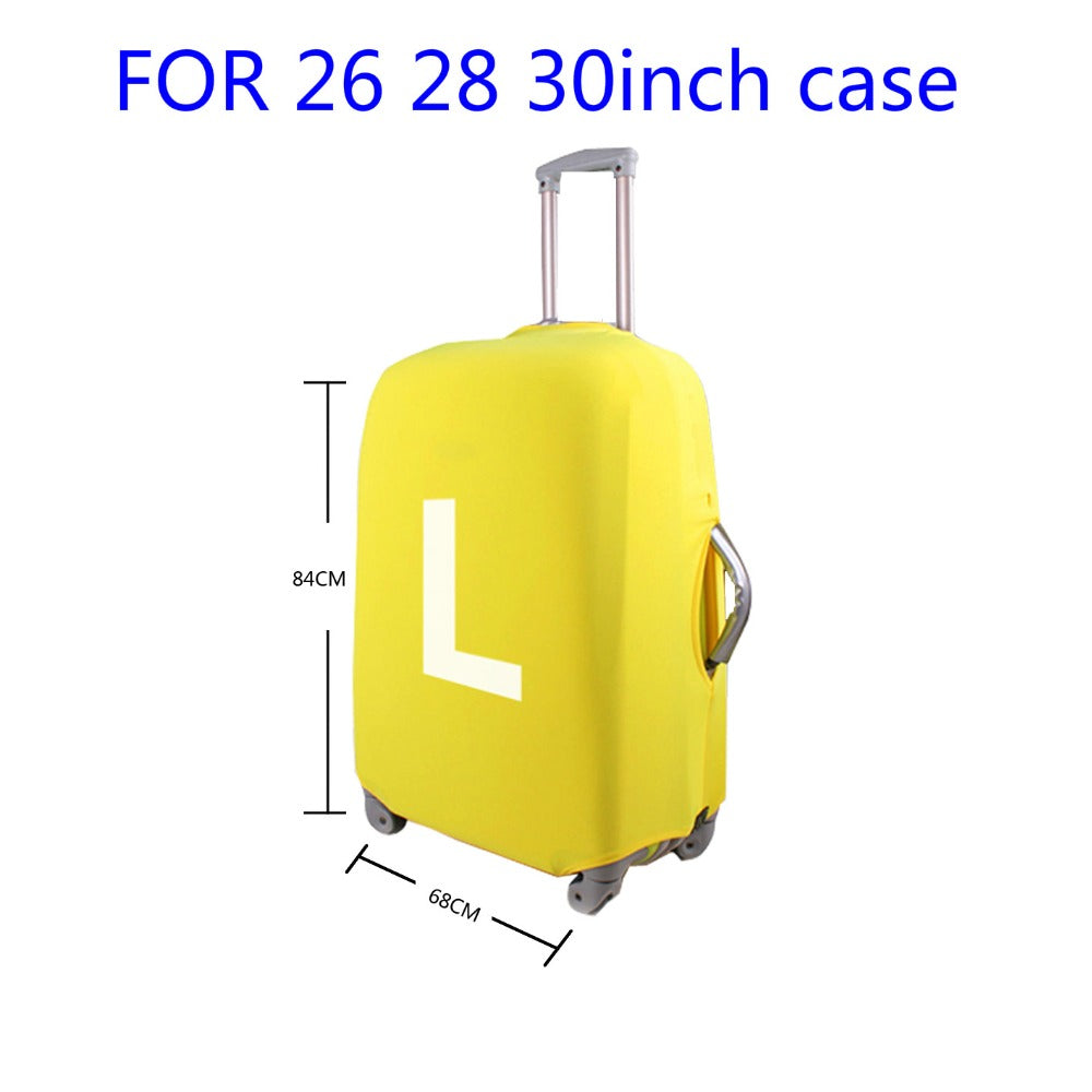 "Designer Case Cover Elastic Travel Accessories 18 to 30 ""inch Suitcase Luggage Protection Covers - Travell Well"