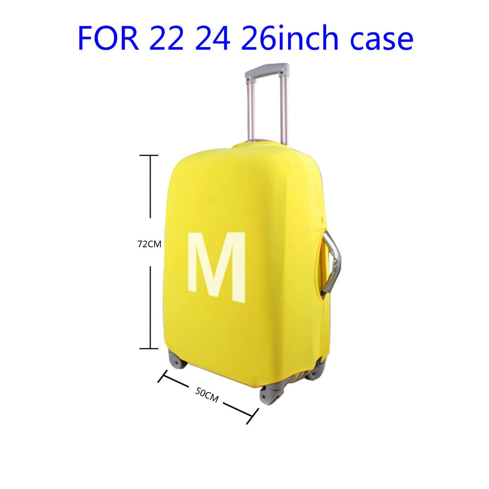 "Designer Case Cover Elastic Travel Accessories 18 to 30 "" inch Suitcase Luggage Protection Covers - Travell Well"