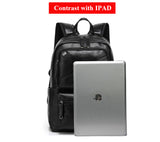 Anti Theft Backpack Headphone Jack Travel Security Waterproof Work School Bag 15 inch Laptop Backpacks Satchel Sac à dos Mochila Travel Bags - Travell Well