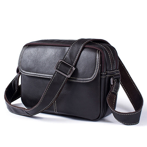 "Designer Genuine Leather Briefcase Laptop Bag 14 "" Shoulder Crossbody Messenger Bags"
