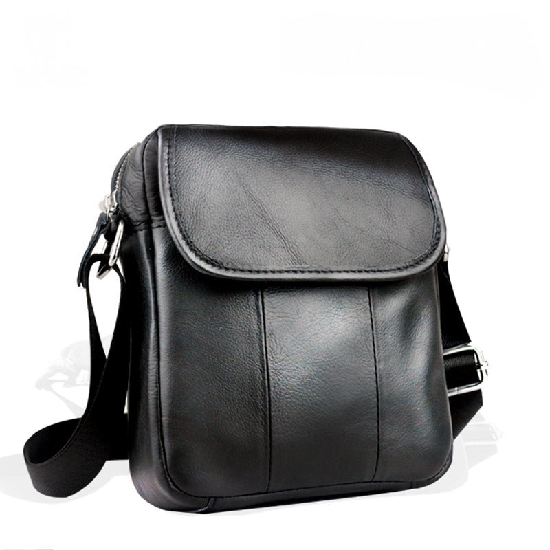 ef6f4d810277 ... Genuine Leather Men s HandBag Mini Shoulder Bags Casual Designer  Handbag Men Crossbody Shoulder Bags - Travell ...