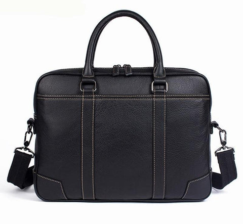 Men's Shoulder Bag Genuine Leather Crossbody Bags Handle-top Messenger Bag Men Leather Tote Bags