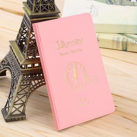 World Map Pink Passport Holder Case Protective Cover Girls Wallets Protective Cover World Map Wallet